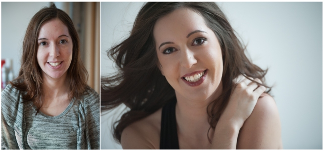 Before and After Boudoir Photography Pittsburgh