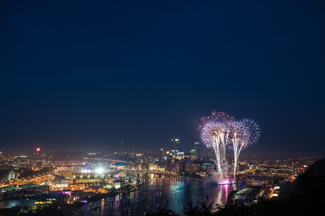 Pittsburgh at Night Photos