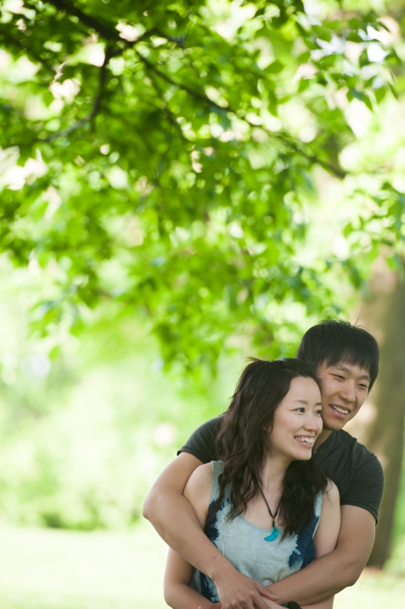 Pittsburgh Mellon Park Engagement Session-0011