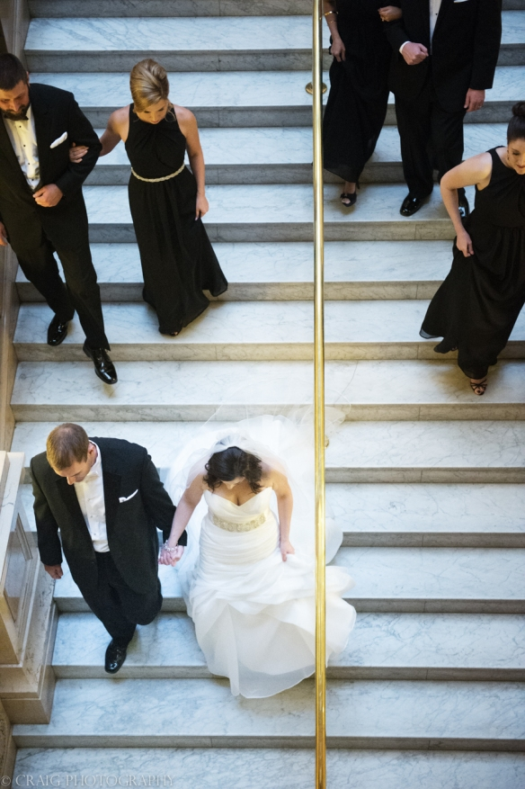 Carnegie Museum Hall of Sculptures Wedding Photos-0013
