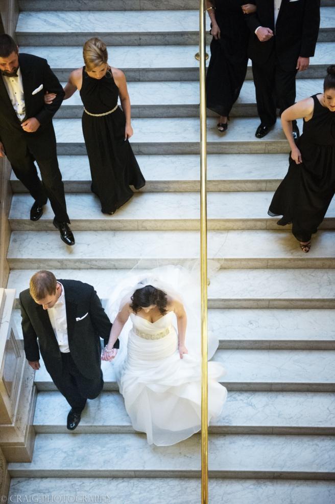 Carnegie Museum Hall of Sculptures Wedding Photos-0013
