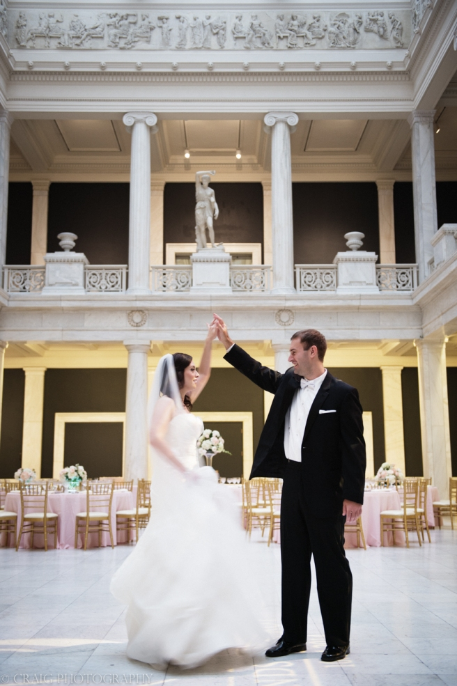 Carnegie Museum Hall of Sculptures Wedding Photos-0014