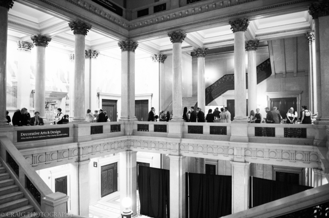 Carnegie Museum Hall of Sculptures Wedding Receptions-0006