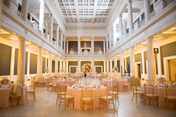 Carnegie Museum Hall of Sculptures Wedding Receptions-0016