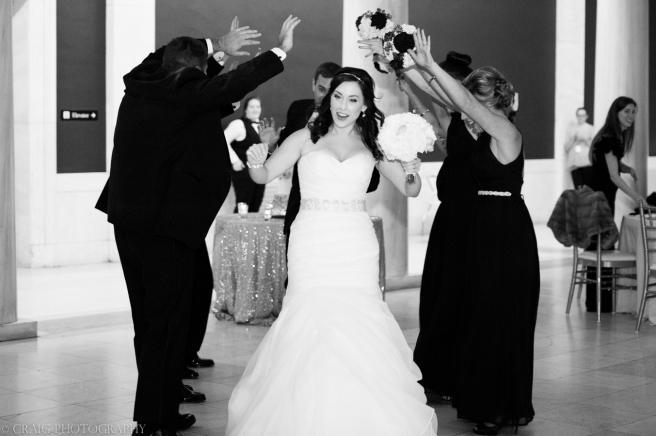Carnegie Museum Hall of Sculptures Wedding Receptions-0020
