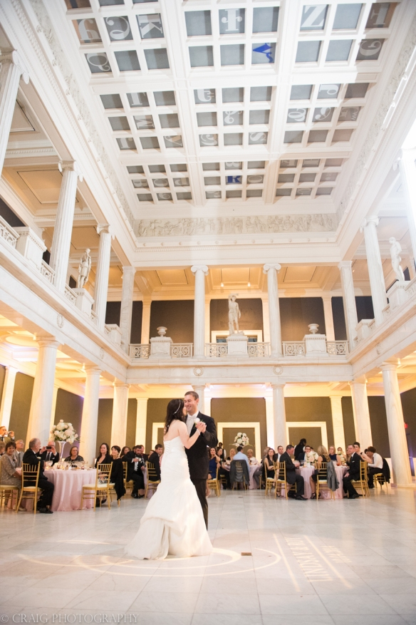 Carnegie Museum Hall of Sculptures Wedding Receptions-0022