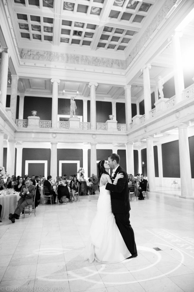 Carnegie Museum Hall of Sculptures Wedding Receptions-0023