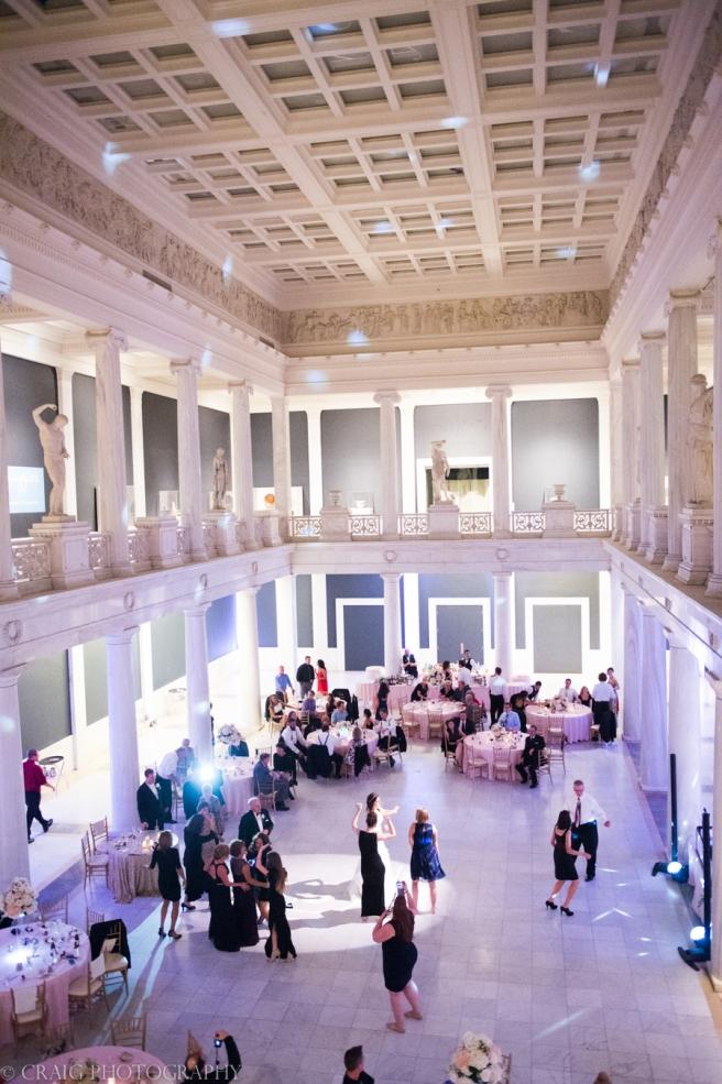 Carnegie Museum Hall of Sculptures Wedding Receptions-0061