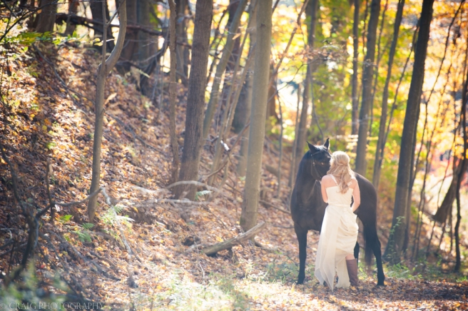 Bride with Horse-0001