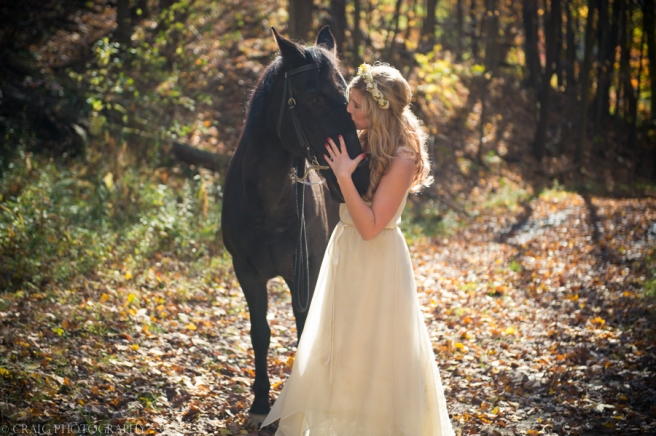 Bride with Horse-0002