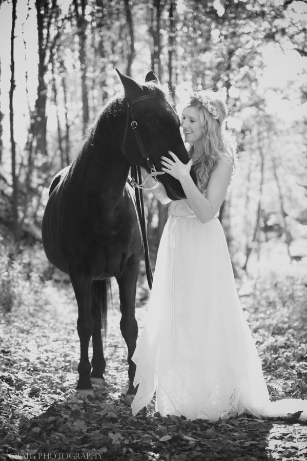 Bride with Horse-0004