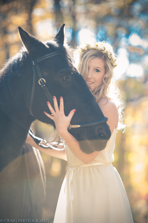 Bride with Horse-0005
