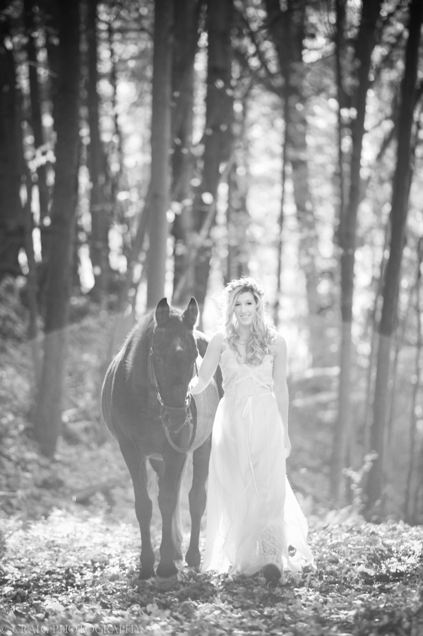 Bride with Horse-0008