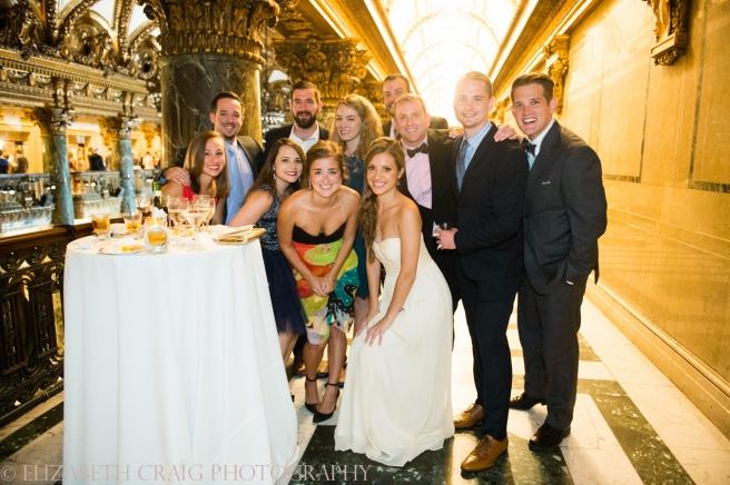Carnegie Museum Music Hall Foyer Wedding Receptions-0088
