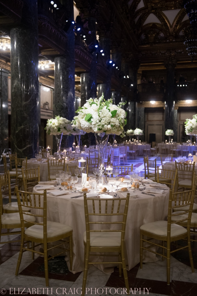 Carnegie Museum Music Hall Foyer Wedding Receptions-2