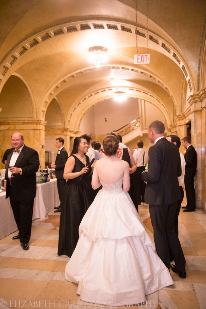Carnegie Museum Music Hall Foyer Wedding Receptions-78