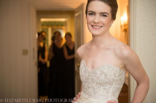 Omni William Penn Getting Ready Wedding Day Photos | Renaissance Suite-33