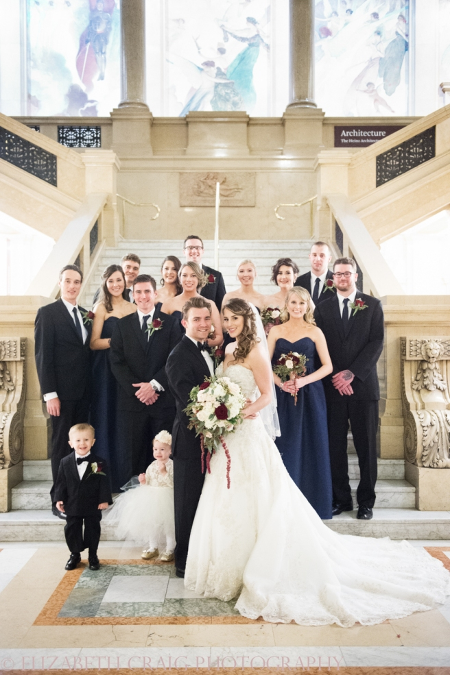 Carnegie Museum of Art Weddings | Elizabeth Craig Photography-0079