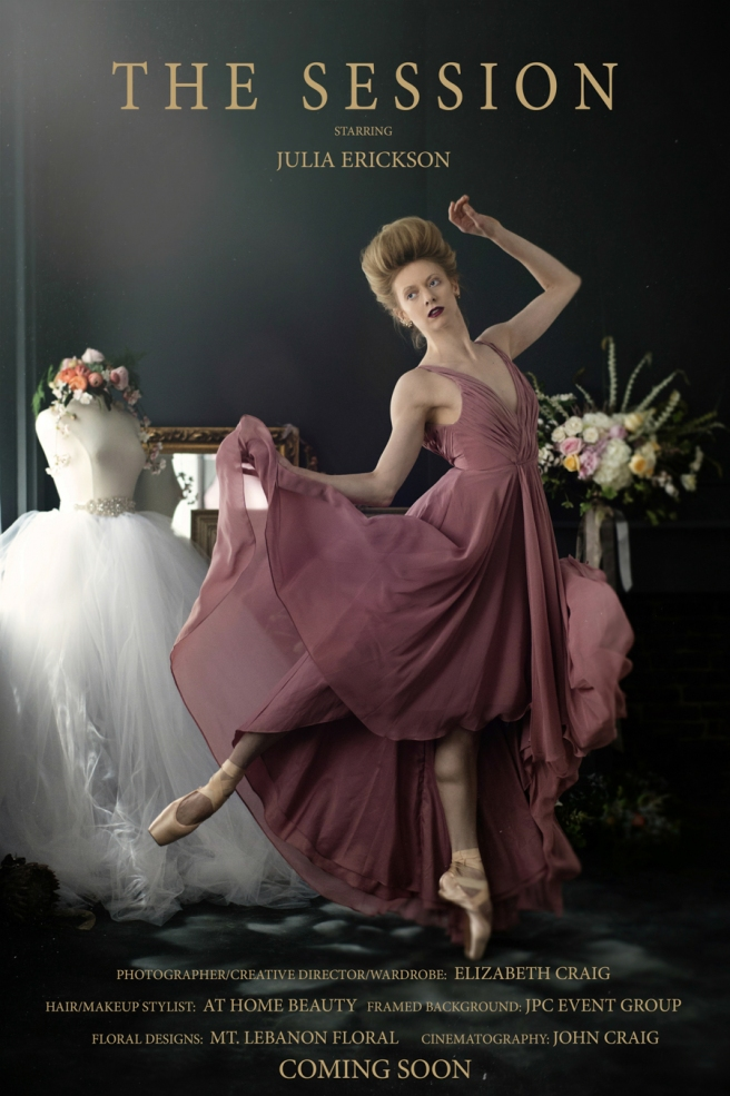 Ballerina Boudoir Photo Session | Elizabeth Craig Photography-1